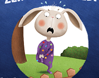 Angry bunny hurts himself ::: educational picture book