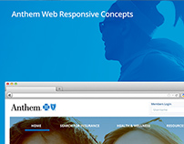Anthem Web Responsive Concepts