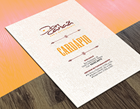 Don Canaã | Restaurant Menu