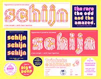 Schijn, a multifaceted typeface