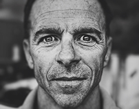 """""""Through my Iphone"""", Portraits by Philippe Echaroux"""