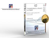 Médailles des championnat de France FFT