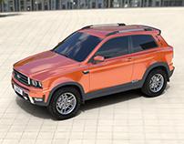 Lada 4x4 SUV Concept