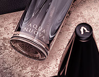 Aqua Nuova, luxury water bottle concept.