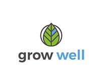 Grow Well | Logo Design