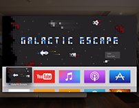 Galactic Escape — gaming on Apple TV