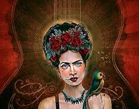 Frida's guitar (Frida Kahlo)