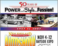AUTO SHOW PRINT ADVERTISING