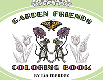 Garden Friends Coloring Book