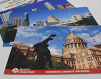 Austin Chamber Membership Postcards