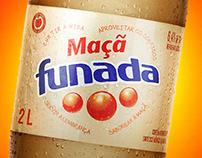 Campanha de lançamento Funada sabor Maçã
