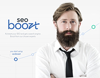 Seoboozt: UI/UX and responsive website Design