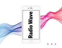 Radio Wave app design