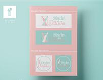 Logo e Banner - DinDin da Ditinha