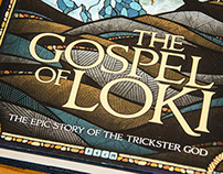 The Gospel of Loki // Book Cover