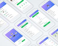 4urtime iOS app Design