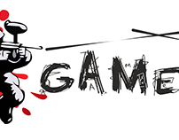 Game On paintball centre logo by StartTall Branding