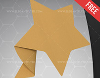 Paper Star – Free 3d Render Templates