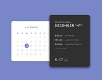 Daily UI #38 - Calendar