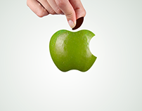Apple in Green / en Verde