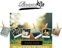 BENDITA EXTREMADURA  Newsletter campaign