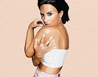 Demi Lovato Portrait