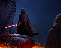 Kyloren vs Skywalker