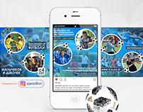 FC Ajax 2 (Instagram style & banner)