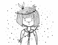Little Girl | Illustration