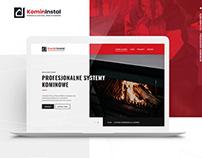 KominInstal - Website for the Chimney Manufacturer