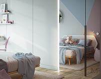 Girl`s bedroom