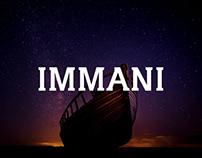 Immani - Free Serif Font