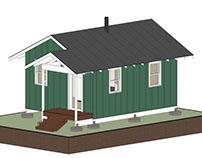 Small Alaskan Cabin