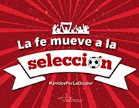 Apoyo a la selección Peruana