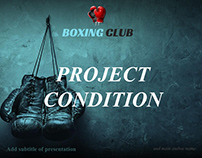 Free Boxing Club Powerpoint Presentation Template