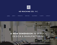 4D Machine Co., Inc. Website