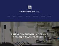 4D Machine Co., Inc. Website