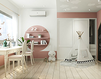 Kids room design by Lai Pháp