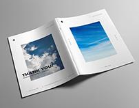 Minimalist Portfolio Book