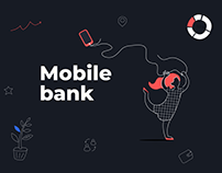 Mobile bank app. Abanking product