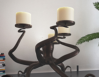 Octopus_Candle_Holder