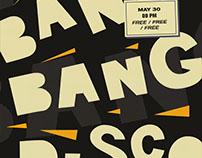 Bang Bang Disco poster