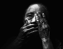 Elder abuse web page imagery