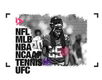 THE SPORT CHANNEL - ALL ABOUT SPORTS - UX & DESIGN