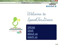 Project Website- Speak For Green