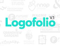 Bourne and Bred Logofolio 2017. Logos we've designed