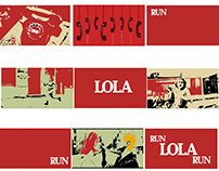 Run Lola Run - Open Titles & Story Board