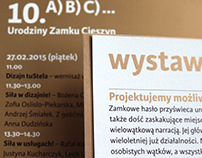 Program anniversary of Zamek Cieszyn design center