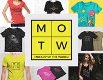 10 Free T-Shirt Mockups 2018 MOTW 4