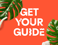 Get Your Guide - Custom Animated Typeface